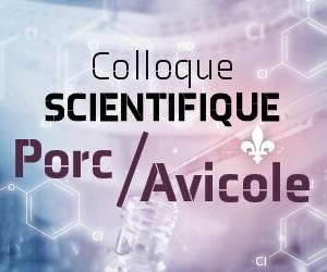 Colloque scientifique en production porcine et avicole